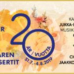 Tammisaaren Kesäkonsertit 20 vuotta
